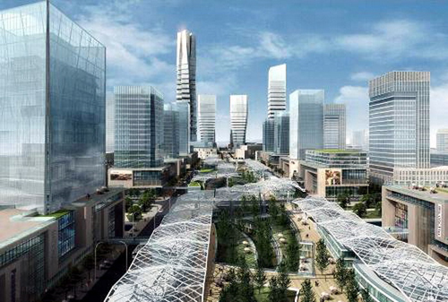 成都县级市崇州境内羊马生态城600亩居住用地拟整体或分块转让[项目编号:XM375]