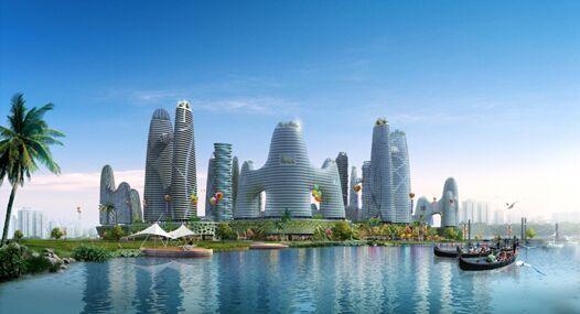 珠海市横琴自贸区世界最大某展销中心寻求合作拿地[项目编号:XM412]