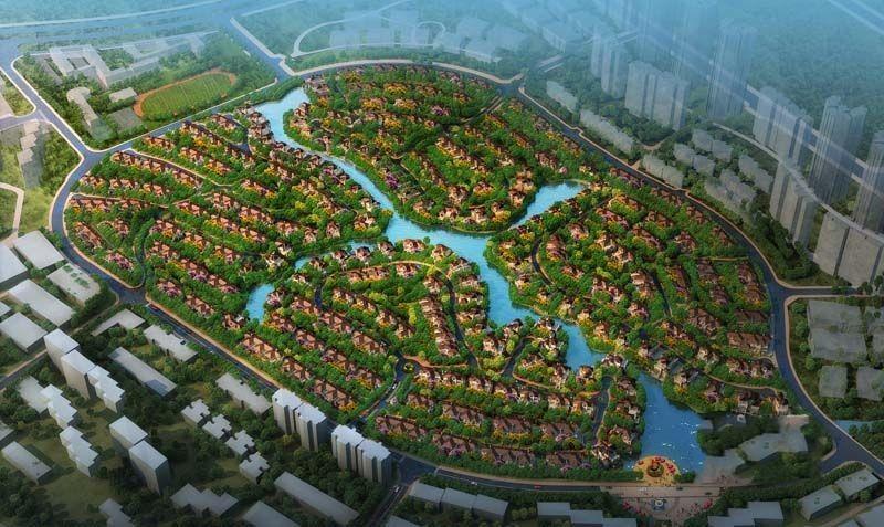 武汉经开金沙半岛别墅项目转让/合作开发[项目编号:XM482]