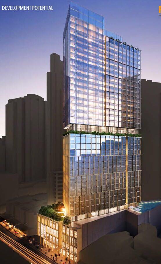 悉尼市中心绝版23层CBD办公室大楼1.6亿澳元转让[项目编号:AUS105]