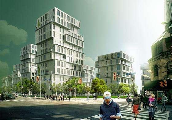 福建省某重点城市住宅项目融资150亿