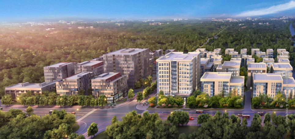 上海市宝山区某产业园区内5栋独栋新建企业总部(研发楼)出售[项目编号:ZC882]